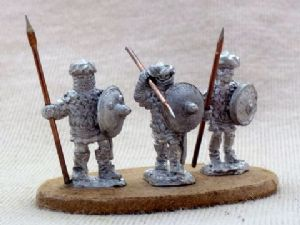 MUF31 Berber armoured spearmen